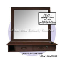 Wall Mount Salon Styling Station Furniture Equipment