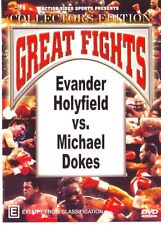 EVANDER HOLYFIELD VS MICHAEL DOKES BOXING DVD - COLLECTORS EDITION