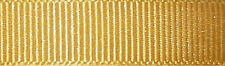 16mm Berisfords Gold Grosgrain Ribbon 20m Reel