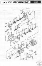 KAWASAKI K3V 112DT Hydraulic/Hydrostatic Pistons 9 PCS