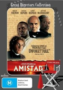Amistad DVD REGION 4 AUST - Anthony Hopkins - Steven Spielberg Movie