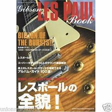 All About Gibson LES PAUL Guitar Photo Book 1985-1960's BURSTS Custom RARE