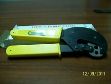 Ripley Cablematic CR596QL Hex Crimp Tool