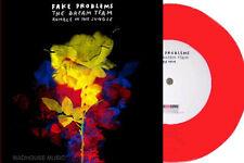"FAKE PROBLEMS 7"" Dream Team / Rumble In The Jungle ORANGE Vinyl 1000 Made +PROMO"