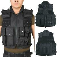Tactical Vest Police Ammo Military Airsoft Hunting Combat Assault Carrier F P2N8