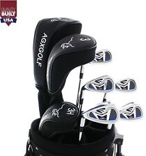 AGX-XLT Left Hand Ladies Petite Complete Golf Club Set wCart Bag+Putter #NXTCB01