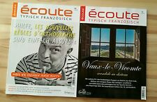 Ecoute Écout - französisch Magazin Zeitschrift September, Dezember 2016 TOP