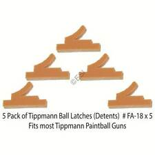 Tippmann 5 Pack of Ball Latch Detents - Orange