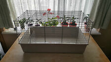 Rabbit Cage Indoor Guinea Pig Gerbil Small Animals Rat Mouse Grey Hamster 80