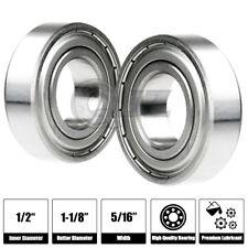"10 R8-ZZ Premium R8 ZZ bearing R8 2Z ball bearings 1//2/""x1-1//8/""x5//16/"" ABEC3"
