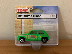 Tomica Renault 5 Turbo UK Blister Card