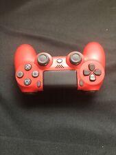 OEM Sony DualShock PS4 Wireless Controller Red