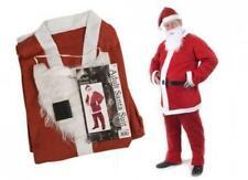 Christmas Adult Felt Santa Suit - 5 Piece - 051-988