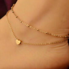 New Sexy Women Gold Plated Ankle Chain Anklet Bracelet Foot Jewelry Sandal Beach