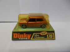 dinky 178 mini clubman boxed 1974