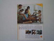 advertising Pubblicità 1967 KODAK INSTAMATIC SUPER 8