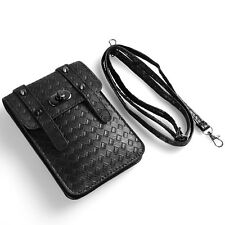 Universal Cell Phone Bag Coin Purse Shoulder Pocket Wallet Pouch Case Strap Bags