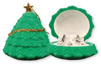 Xmas Nativity Set Holy Family Mini 5 Figures Traditional  Xmas Tree Ornament