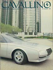 1982 FERRARI CAVALLINO MAGAZIN ENGLISCH USA 15 PININ 3705GT GTO 250