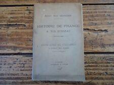 HISTOIRE DE FRANCE A VOL D' OISEAU - PETIT LIVRE RECITATION GRANGEON 1885 ECOLE