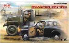 ICM Soviet Army (RKKA) Drivers 1943-1945, (2) Figures in 1/35 643  ST