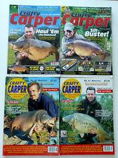 4 x Crafty Carper Magazines - Jun & Jul 2001 - May & Jun 2012