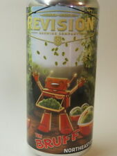 Craft BEER Can ~ REVISION Brewing Co The Bruff Northeast IPA ~ Sparks, NEVADA