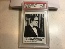 1964 The Munsters #58 But I Was Voted One of the 10... GRADED PSA 8(ST) NM-MT