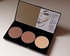 Smashbox Step-By-Step Contour Kit Palette - Light to Medium - No Brush - NWOB