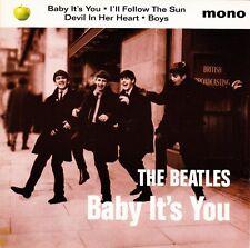 "The Beatles - Baby It's You / I'll Follow The Sun + 2 EP - 7"" UK Vinyl 45 - New"