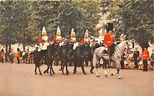 BR435 England London Mounted Guards in the Mall  uk