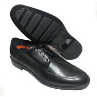 Cole Haan Men Size 10 Black Leather Shoes LENOX HILL SPLIT OX Apron Split Toe