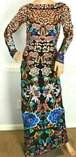 New NWT Temperley London Long Baudelaire Embroidered Dress Gown UK 6 US 2