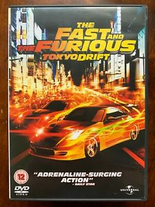 Fast and the Furious Tokyo Drift DVD 2006 Action Car Chase Crime Movie 3 2 Disc