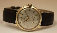 Omega Seamaster Bumper Automatic Gold Filled 34mm Circa 1950s Watch