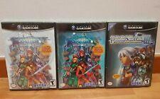 Phantasy Star Online Episode I II PLUS III GameCube Game Cube NTSC New Nuovo
