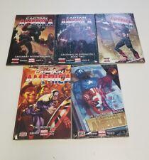 captain america marvel now 5 hardcover volume lot new sealed remender jrjr