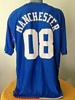 GLASGOW RANGERS Soccer Jersey 2007/08 Trikot Football Shirt Maillot MANCHESTER