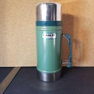 Aladdin Stanley Thermos Bottle 24 oz Wide-Mouth 20-00082 A 2010 EN12546-1 Green