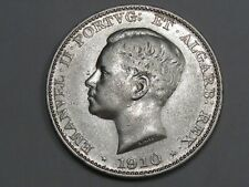1910 Silver 500 REIS Coin of Portugal. Manuel II.  #31