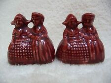 CLOSE OUT : VINTAGE 2 DUTCH COUPLES Salt and Pepper Shakers - Never Used