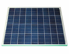 Solarmodul 80 Watt poly Solarpanel Solarzelle Photovoltaik NEU TÜV Zertifikat