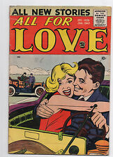 PRIZE COMICS  ALL FOR LOVE  VOL 3  NO 4  1959 1960  ROMANCE