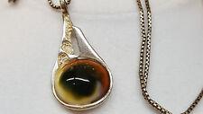 Collier Argent 925 CHAÎNE EN ARGENT AVEC PENDENTIF coquille perle 58 cm