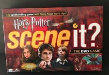 Scene It? Harry Potter Edition Red Box Mattel 2005 Trivia Family Game Complete