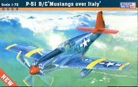 "NORTH AMERICAN P-51B/C ""MUSTANG OVER ITALY""  1/72 MISTERCRAF"