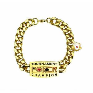 Poker Tournament Champion Bracelet Armband Pokerturnier Schmuck