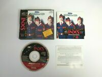 INXS With Spine Card Very Good Disc | Sega Mega CD | Complete | Free Shipping