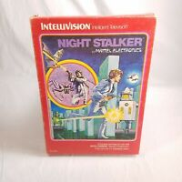 COMPLETE IN BOX Intellivision Night Stalker TESTED GUARANTEED!