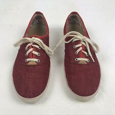 Hotter Comfort Concept Womens Sz 9 Sneakers Shoes Red Sparkle